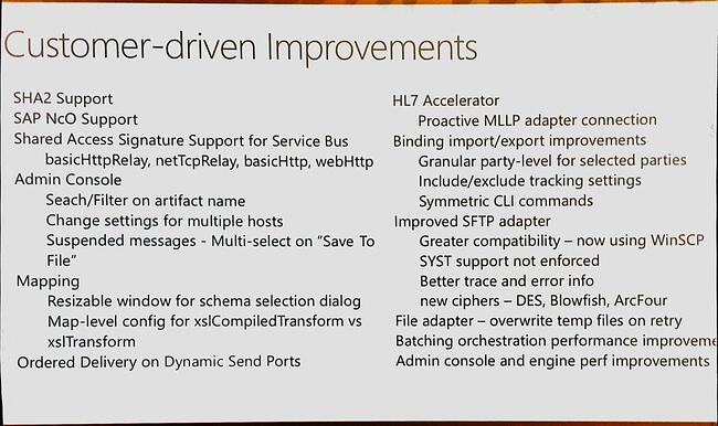 Integrate 2016 - Summary of Microsoft's Messages for Integration