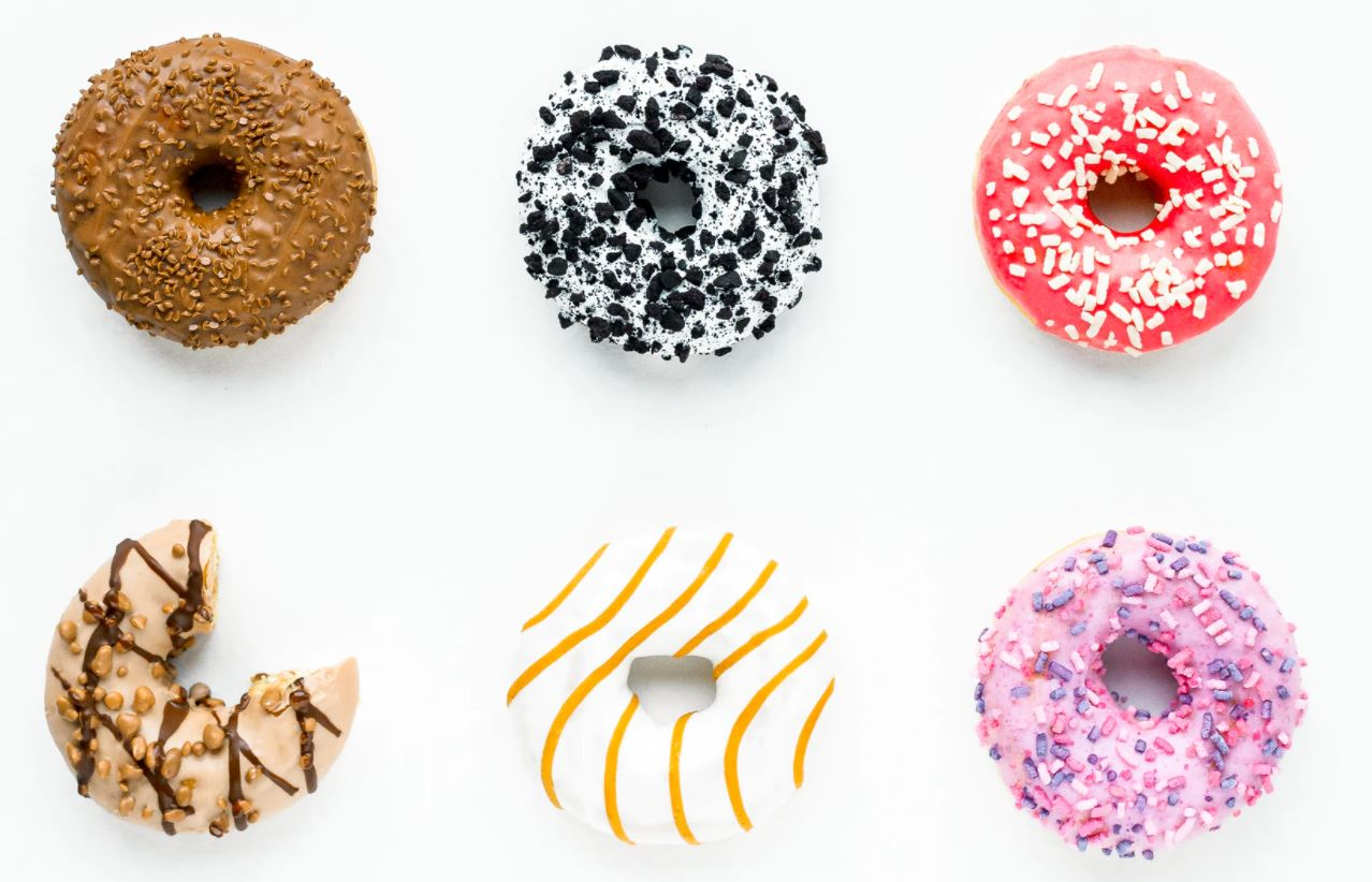 Some delicious looking doughnuts. You may have to buy less of these for your support team after you move to microservices.