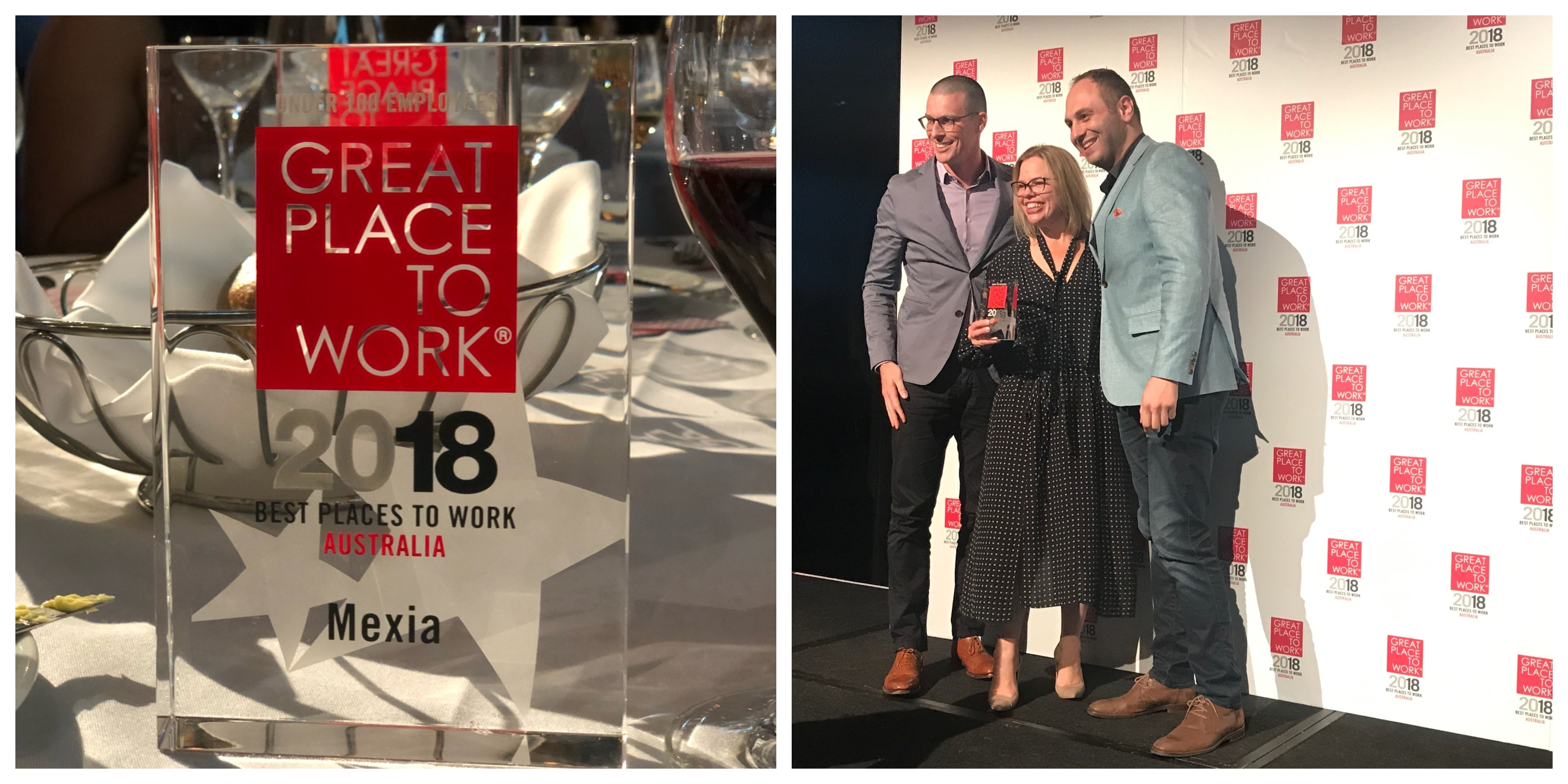 Mexia Announced 11th BEST Place to Work in Australia 2018!
